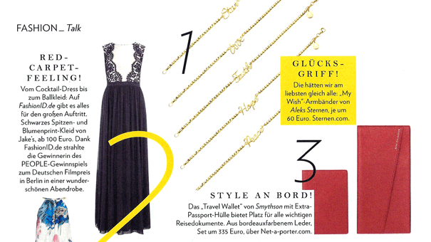 People Magazin Armband